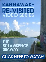 Kahnawake Revisited: The St-Lawrence Seaway